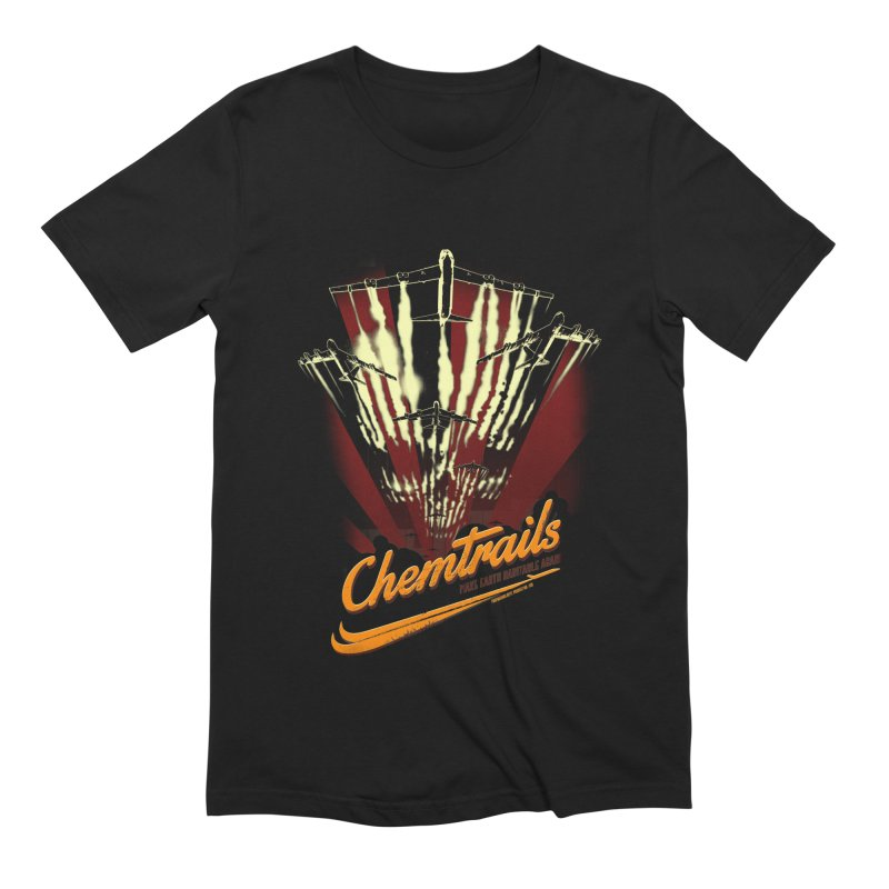 Chemtrails Men's Extra Soft T-Shirt by Propaganda Department