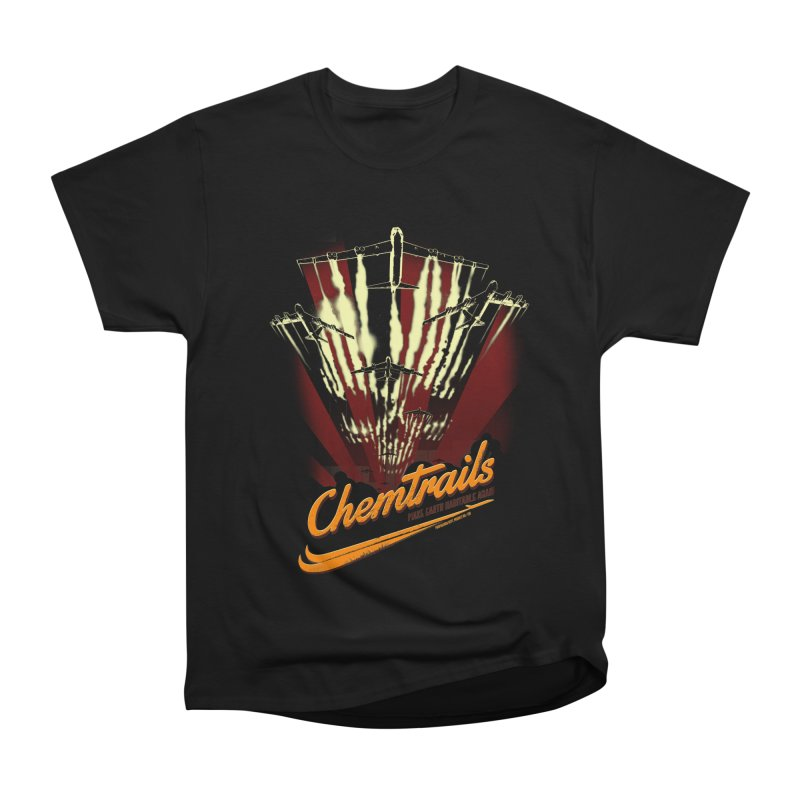 Chemtrails Men's Heavyweight T-Shirt by Propaganda Department