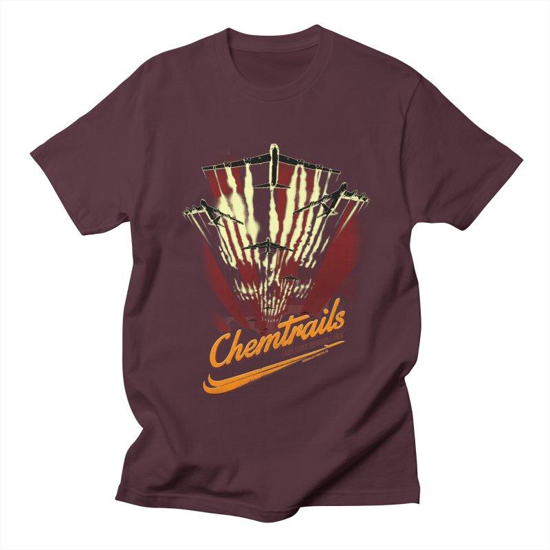 Chemtrails Men's Regular T-Shirt by Propaganda Department