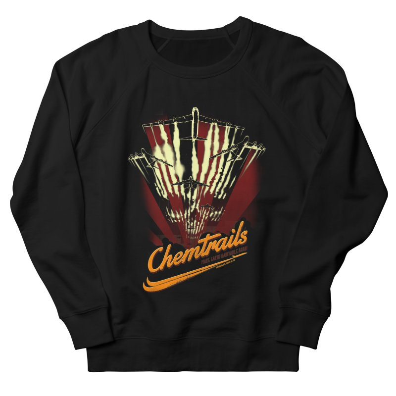 Chemtrails Women's French Terry Sweatshirt by Propaganda Department