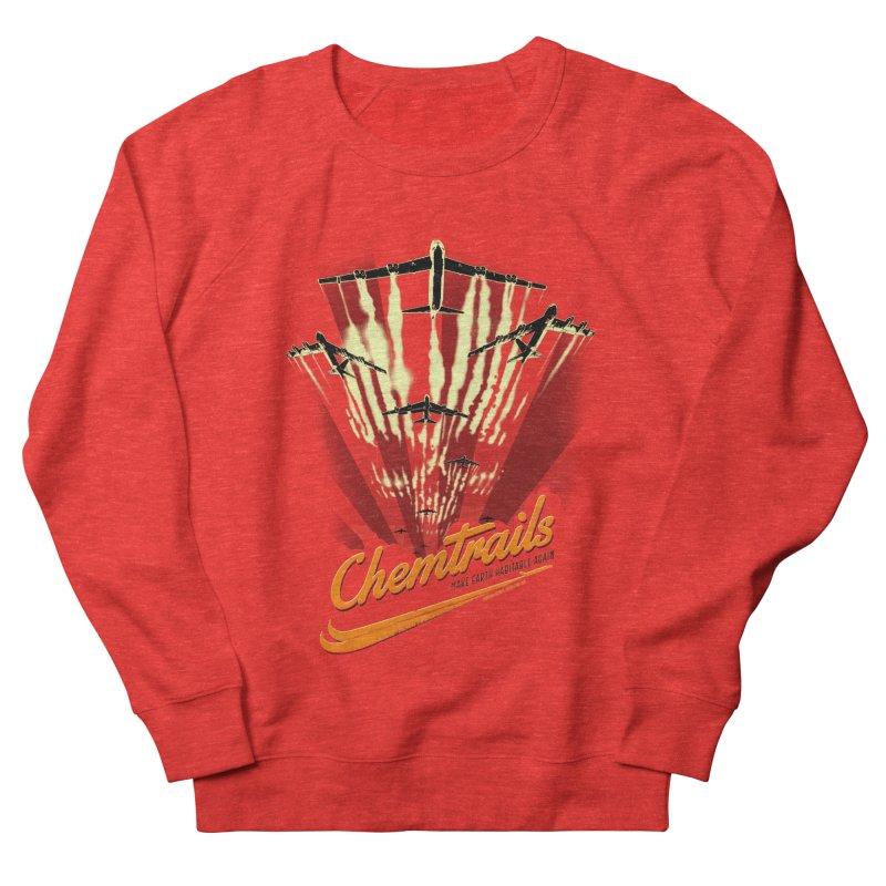 Chemtrails Men's Sweatshirt by Propaganda Department