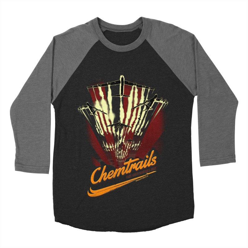 Chemtrails Men's Baseball Triblend Longsleeve T-Shirt by Propaganda Department