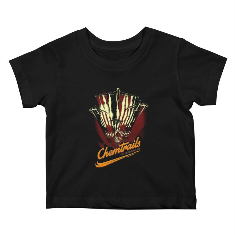 Chemtrails Kids Baby T-Shirt by Propaganda Department