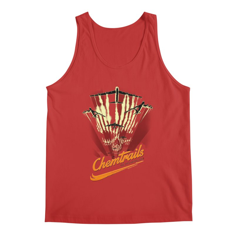 Chemtrails Men's Tank by Propaganda Department