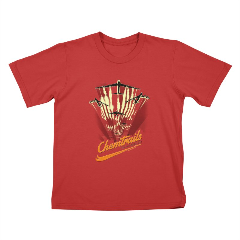 Chemtrails Kids T-Shirt by Propaganda Department