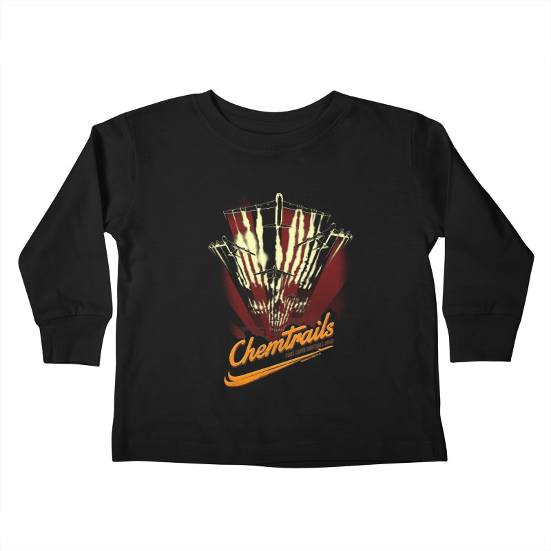 Chemtrails Kids Toddler Longsleeve T-Shirt by Propaganda Department