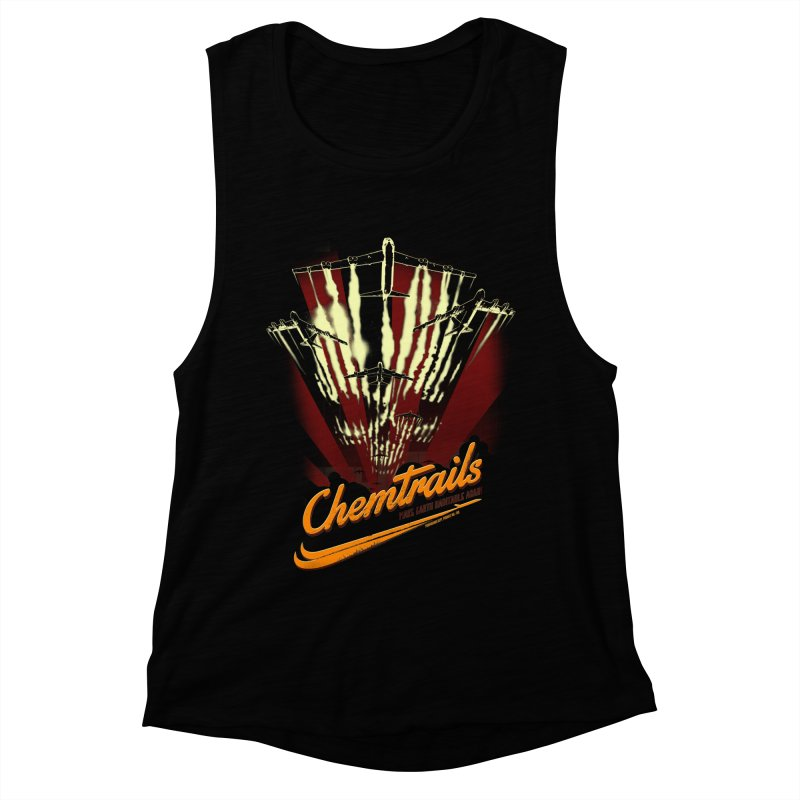 Chemtrails Women's Muscle Tank by Propaganda Department