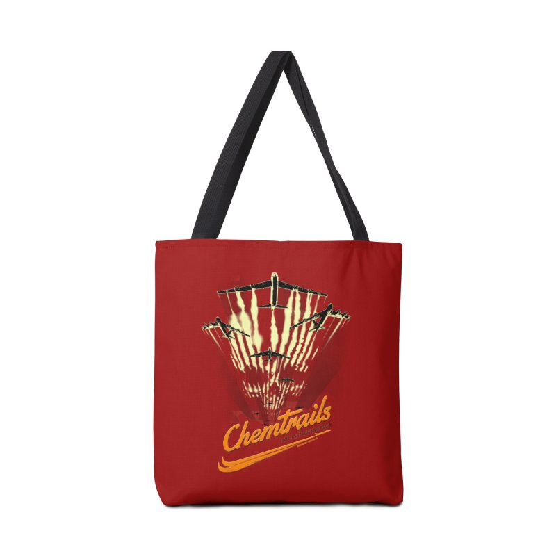 Chemtrails Accessories Tote Bag Bag by Propaganda Department