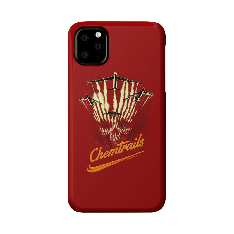 Chemtrails Accessories Phone Case by Propaganda Department