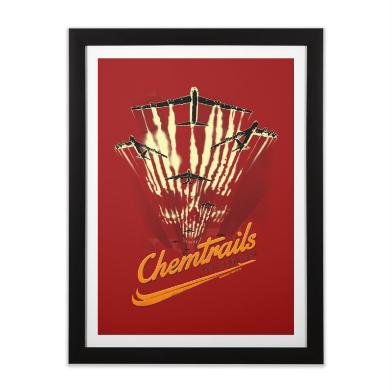 Chemtrails Home Framed Fine Art Print by Propaganda Department