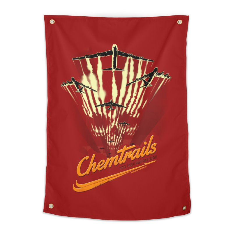 Chemtrails Home Tapestry by Propaganda Department