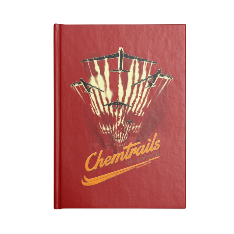 Chemtrails Accessories Notebook by Propaganda Department