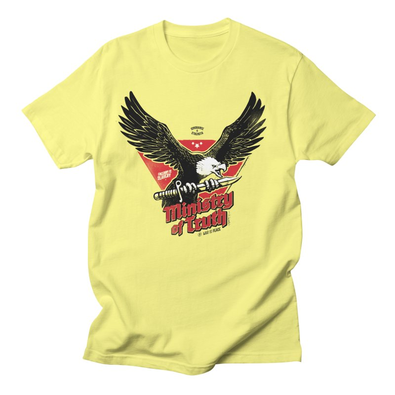 Ministry of Truth Men's T-Shirt by Propaganda Department