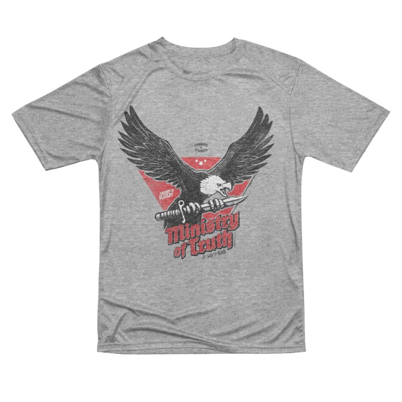 Ministry of Truth Women's Performance Unisex T-Shirt by Propaganda Department
