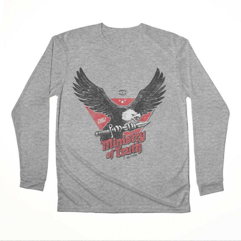 Ministry of Truth Men's Performance Longsleeve T-Shirt by Propaganda Department