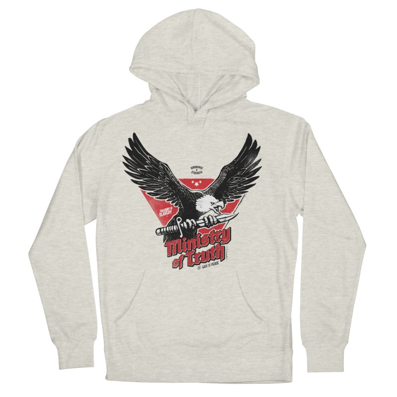 Ministry of Truth Women's French Terry Pullover Hoody by Propaganda Department