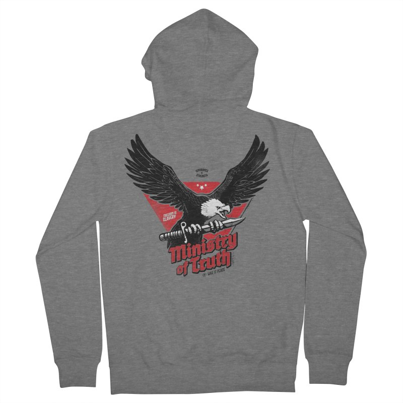 Ministry of Truth Women's Zip-Up Hoody by Propaganda Department