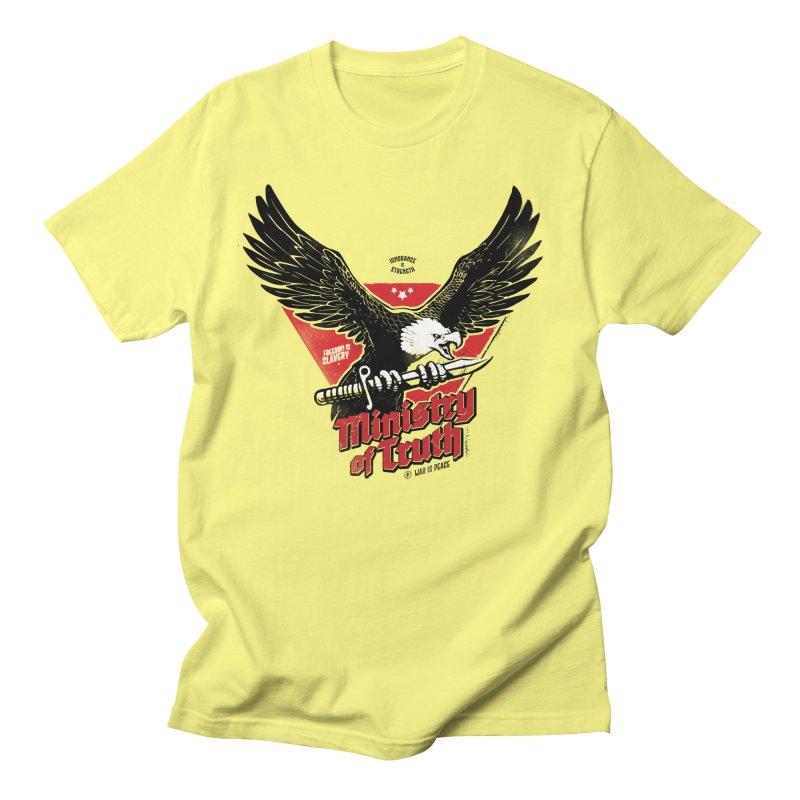 Ministry of Truth Men's Regular T-Shirt by Propaganda Department