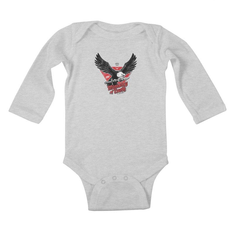 Ministry of Truth Kids Baby Longsleeve Bodysuit by Propaganda Department