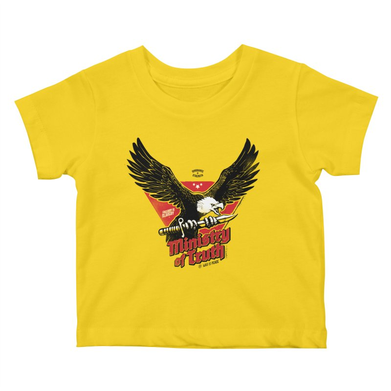 Ministry of Truth Kids Baby T-Shirt by Propaganda Department