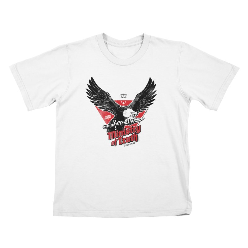 Ministry of Truth Kids T-Shirt by Propaganda Department