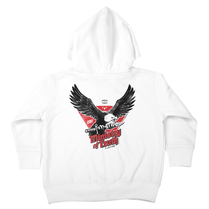 Ministry of Truth Kids Toddler Zip-Up Hoody by Propaganda Department