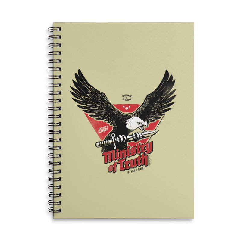Ministry of Truth Accessories Lined Spiral Notebook by Propaganda Department