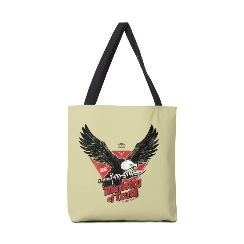 Ministry of Truth Accessories Tote Bag Bag by Propaganda Department