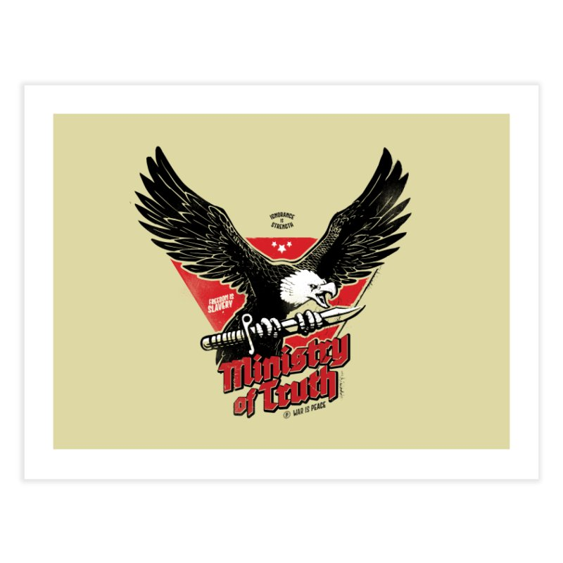 Ministry of Truth Home Fine Art Print by Propaganda Department