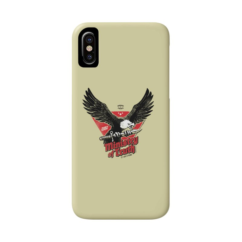 Ministry of Truth Accessories Phone Case by Propaganda Department