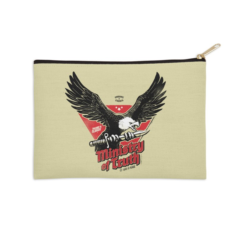 Ministry of Truth Accessories Zip Pouch by Propaganda Department