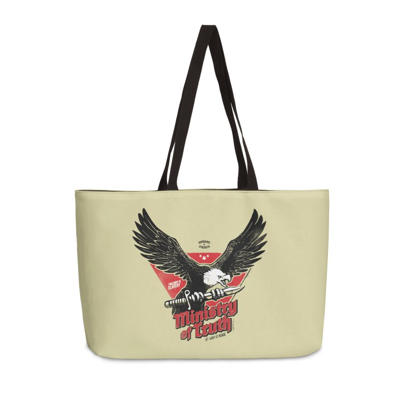 Ministry of Truth Accessories Weekender Bag Bag by Propaganda Department
