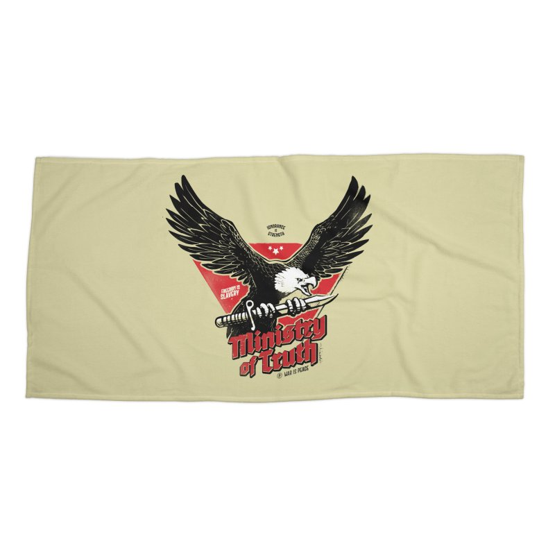 Ministry of Truth Accessories Beach Towel by Propaganda Department