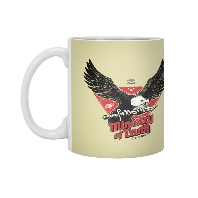 Ministry of Truth Accessories Mug by Propaganda Department