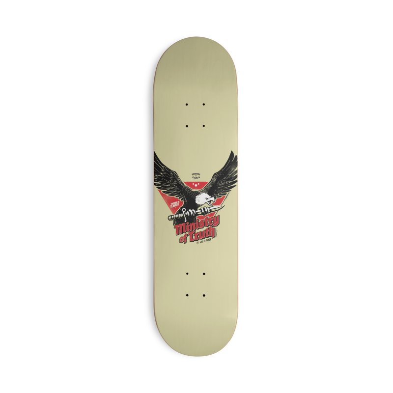 Ministry of Truth Accessories Deck Only Skateboard by Propaganda Department