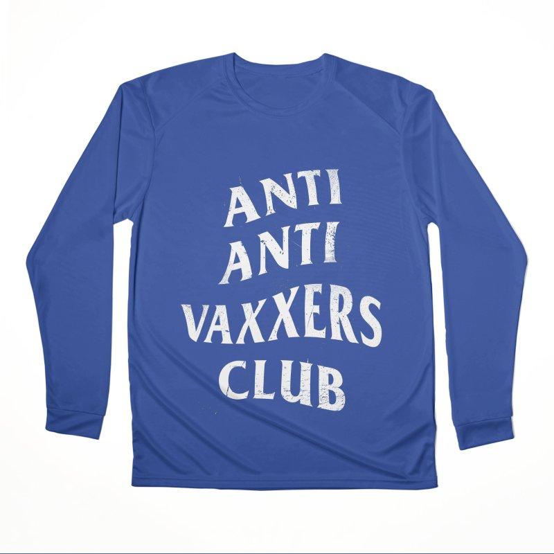 Anti Anti Vaxxers Club Men's Longsleeve T-Shirt by Propaganda Department