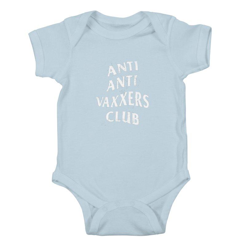 Anti Anti Vaxxers Club Kids Baby Bodysuit by Propaganda Department