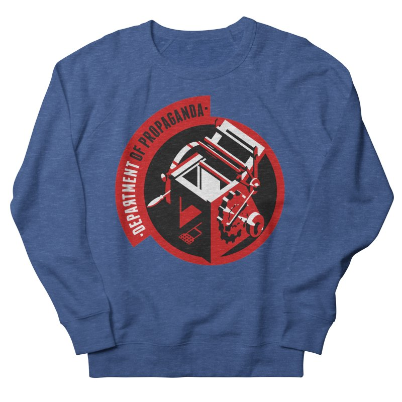 Department of Propaganda Printing Press Men's Sweatshirt by Propaganda Department