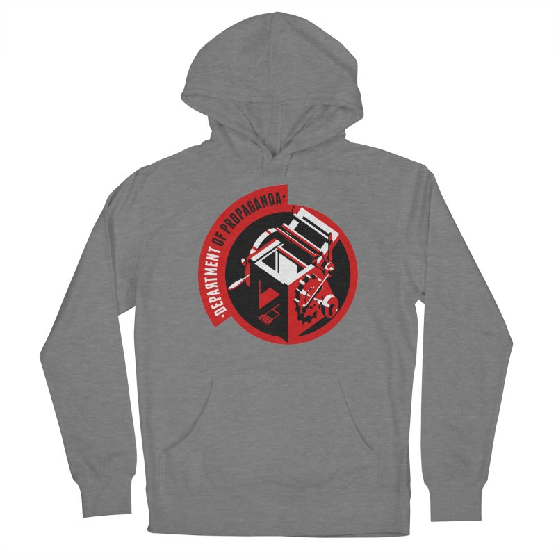 Department of Propaganda Printing Press Women's Pullover Hoody by Propaganda Department