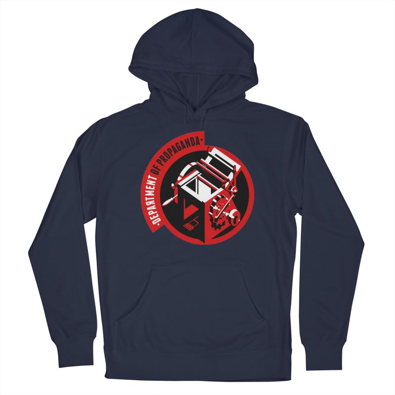 Department of Propaganda Printing Press Men's Pullover Hoody by Propaganda Department