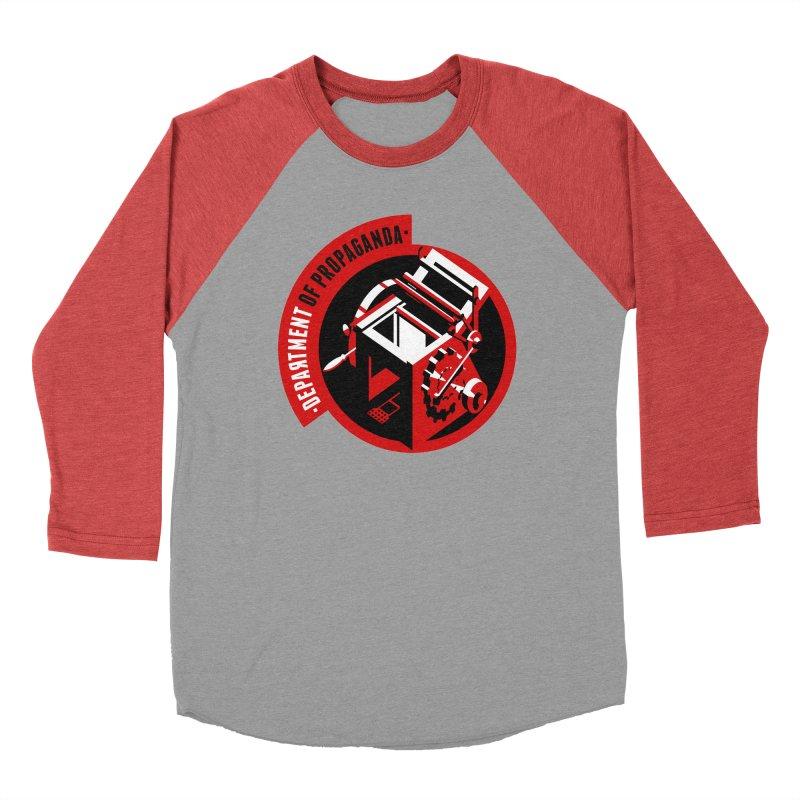 Department of Propaganda Printing Press Women's Longsleeve T-Shirt by Propaganda Department