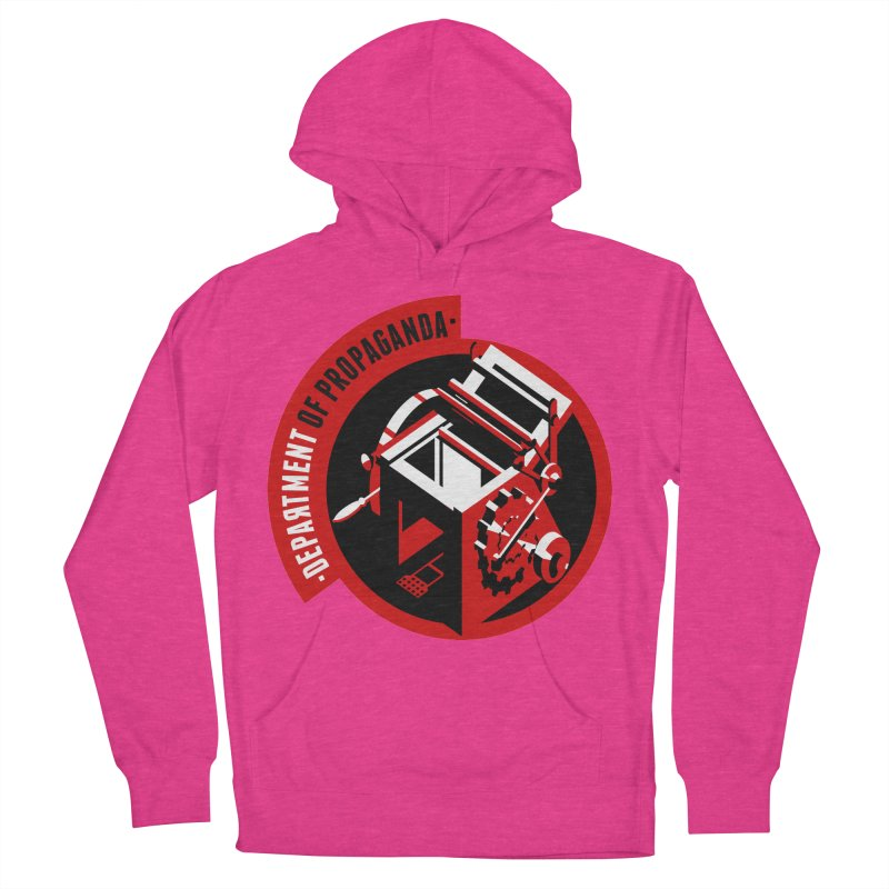 Department of Propaganda Printing Press Men's French Terry Pullover Hoody by Propaganda Department