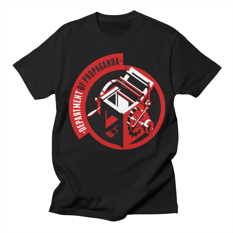 Department of Propaganda Printing Press Women's Regular Unisex T-Shirt by Propaganda Department