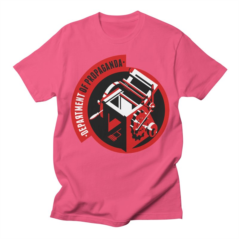 Department of Propaganda Printing Press Women's Regular Unisex T-Shirt by Propaganda Department