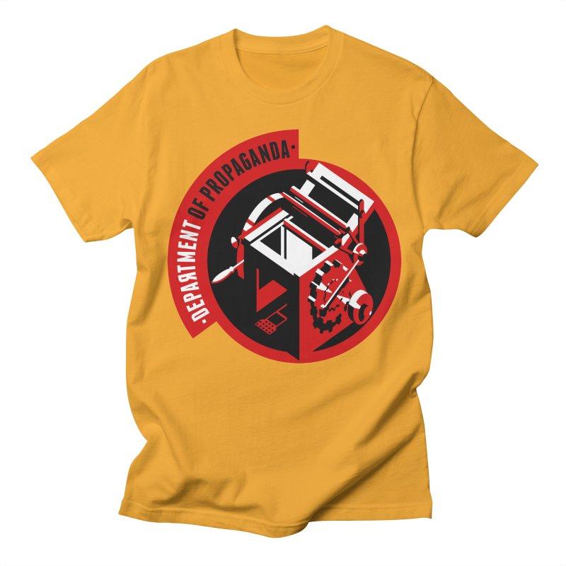 Department of Propaganda Printing Press Men's T-Shirt by Propaganda Department