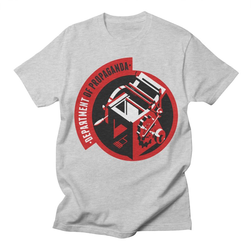 Department of Propaganda Printing Press Men's Regular T-Shirt by Propaganda Department