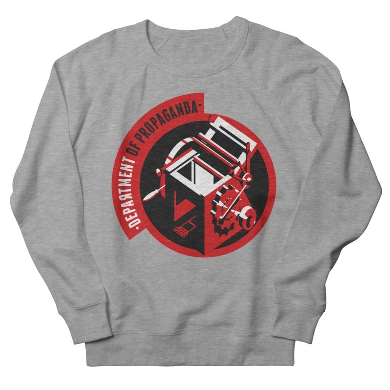 Department of Propaganda Printing Press Men's Sweatshirt by Propaganda Department