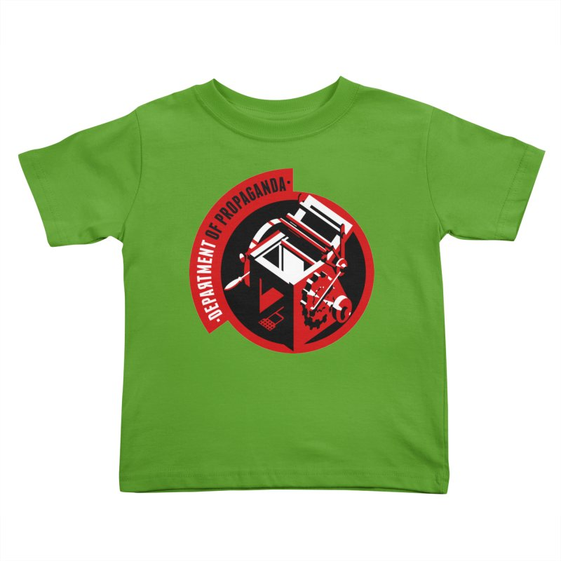 Department of Propaganda Printing Press Kids Toddler T-Shirt by Propaganda Department