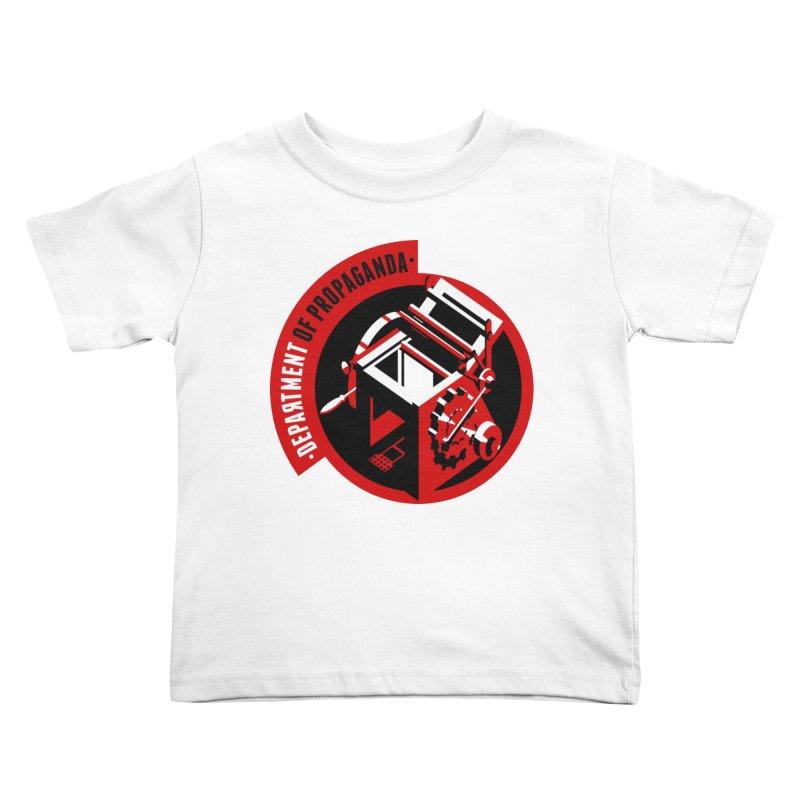 Department of Propaganda Printing Press Kids Toddler T-Shirt by Propaganda Department