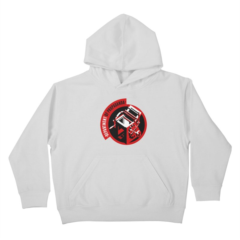 Department of Propaganda Printing Press Kids Pullover Hoody by Propaganda Department